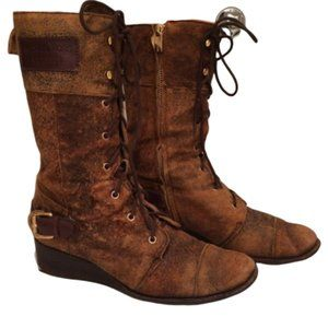 Micahel Kors Lace-up Boots size 7.5